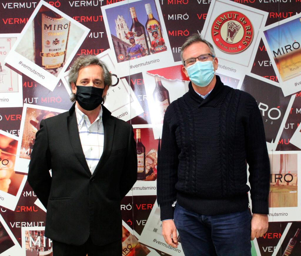 Josep Sentís Vermuts Miró i Marc Moncusí